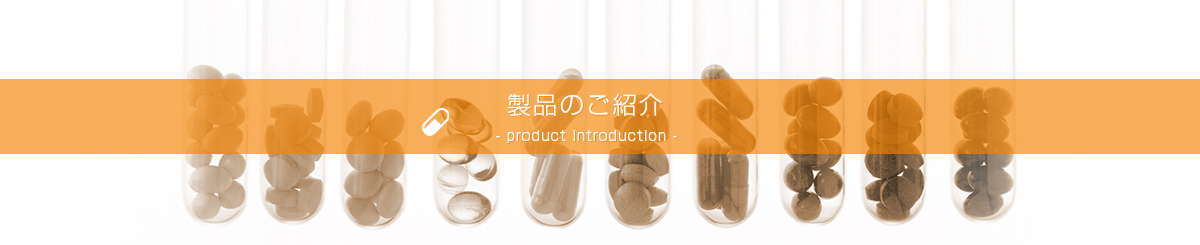 製品のご紹介 -product introduction-